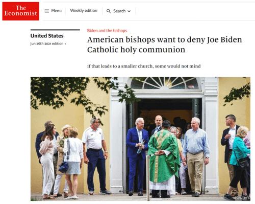 Biden communion debacle