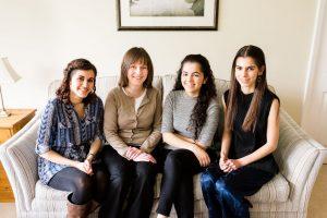 Laura, Alison, Sarah, Anna