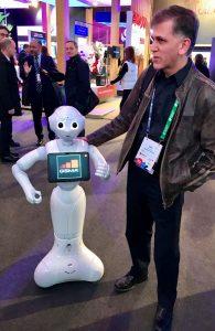 MWC 2018 - robots