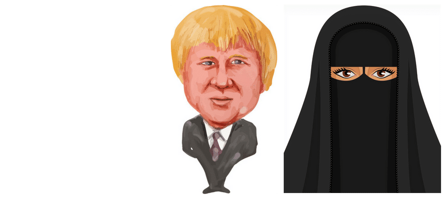 Boris and the Burka affair