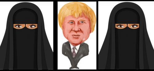 Boris and the burka
